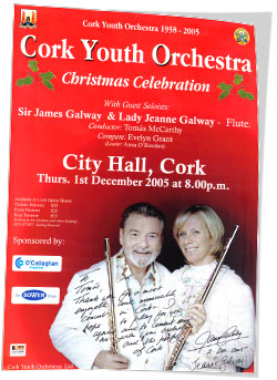 James Galway poster